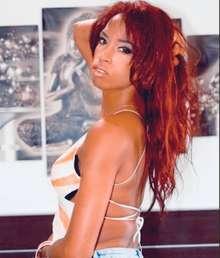 Macu trans cubana y cachonda la chica de fuego llama