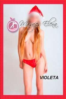 Violeta quiero explorar mi libido junto a ti te animas