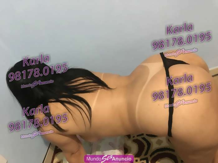 Karla massagem terap ecirc utica e sensual