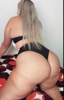 Loira rainha do anal