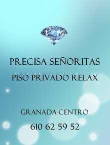 Se precisa senorita para relax granada centro