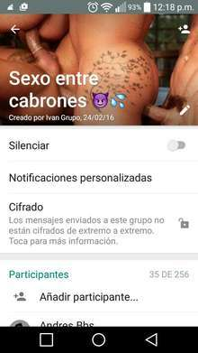 Anuncio de Escorts gay: Grupo de whatsapp