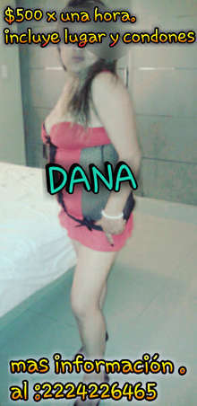 Dana super complaciente y golosa en Puebla Capital