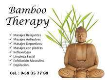 Centro de masajes en lima para hombres bamboo therapy