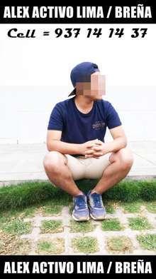 Alex guapo de 21 anos activo dotado de 18cm morboso